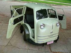 Very cool Tempo Matador '51 quite rare 25hp VW engine front wheeled drive :)