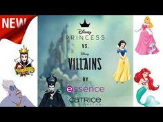 Essence&Catrice Disnep PRINCESS vs. Disnep VILLAINS L.E Preview - YouTube Disney Villains, Channel, Disney Princess, Youtube, Movies, Movie Posters, Films, Film Poster, Cinema