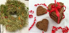 Great Christmas gifts and treats for horse friends and their horses. Check out the edible equine wreath!