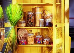 Luminarc Club Jar üveg tárolóedények mindenféle fűszer, liszt, só, cukor tárolására, dekorációs célokra.