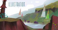 by eltowergo Environment Design, Photoshop, Layout, Concept, Draw, Landscape, Gallery, Creative, Illustration