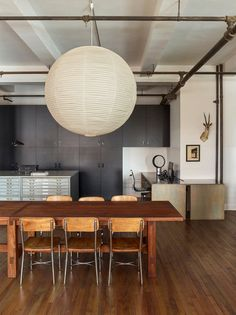 NBS Offices by Neal Beckstedt Studio | 1stDibs Home Office Design, House Design, Grey Interior Doors, New York Office, School Chairs, Dining Room Inspiration, Mid Century Modern Furniture, Architectural Digest, Villa