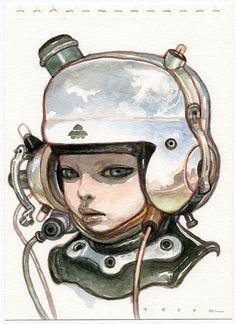 GR2: Katsuya Terada Hot Pot Girls Art
