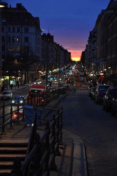 Sodermalm, Stockholm just look at that sunset #PinStockholm
