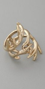 House of Harlow 1960 Antler Wrap Ring @Heather Small this looks like you! but maybe in Sterling Silver instead! :)