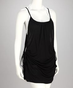 Take a look at this Black Magic Hello Love Palm Springs Cover-Up by Raisins on #zulily today! $32.99