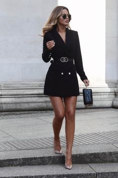 Wie man den Blazer trägt: Wort des Influencers - Mode - Best Of Women Outfits Bad Girl Outfits, Mode Outfits, Fashion Outfits, Fashion Trends, Blazer Fashion, Fashion Clothes, Women's Clothes, Fashion Ideas, Classy Clothes