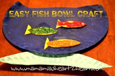 Easy Fish Bowl Craft