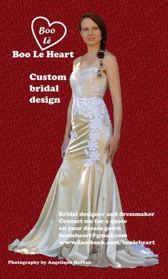 Bridal dressmaker based in Johanessburg South Africa. Sweetheart Trumpet / mermaid Gown by Boo Le Heart