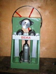 Ring Roller - by Dema - Metal Meet Forums Metal Bending Tools, Metal Working Tools, Metal Tools, Work Tools, Metal Projects, Welding Projects, Homemade Tools, Diy Tools, Ring Roller