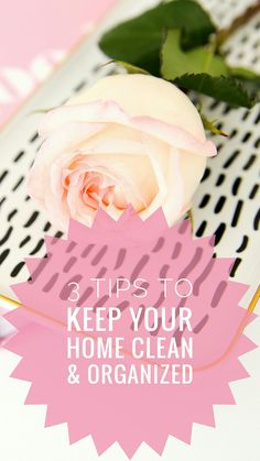 Going to put this tips into practice on how to keep your home clean and organized! You can read it now and pin it for later.