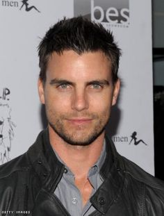 Colin Egglesfield wow his eyes:) Colin Egglesfield, Strong Jawline, Jill Wagner, Real Tv, Michigan, Handsome Celebrities, Hollywood Men, Fifty Shades Trilogy, Christian Grey
