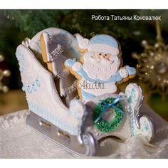 Набор №13 ( Санта Клаус ) - Все для пряников и печения от Даши Рокицкой — интернет-магазин для кондитера