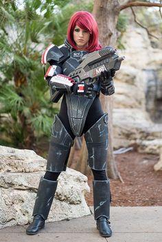 Mass Effect - Fem Commander Shepherd