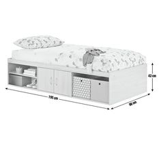 Buy HOME Declan Cabin Bed - White at Argos.co.uk - Your Online Shop for Children's beds, Children's furniture, Home and garden.