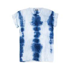 Indigo Shibori Tie Dye T-shirt – Masha Apparel