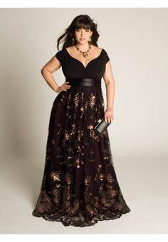 Lakshmi Beaded Gown | Plus Size Wedding | OneStopPlus #Dress