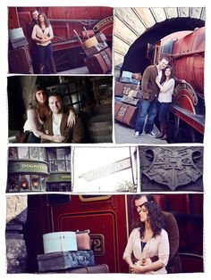 Most. Favorite. Pin. Ever.   Harry Potter World Engagement Shoot!!! Oh how I'd die! Hope my unknown future husband is okay with this. ;)