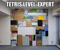 Tetris level expert