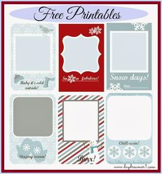 Free Printables Project Life, Filofax, Smash Journals - Day Dreamer
