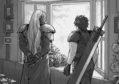 Final Fantasy Crisis Core, Final Fantasy Cloud, Final Fantasy Artwork, Final Fantasy Characters, Final Fantasy Vii Remake, Zbrush, Butler Anime, Les Oeuvres, Wallpaper