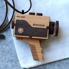 Image of Super 8 Video Camera Necklace