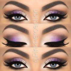 How to incorporate a pop of color without it being too much #purpleeyemakeup