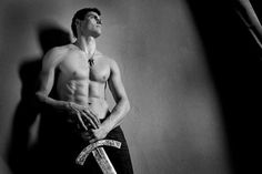 Zbigniew Bartman, hot guy with sword & volleyball player Resistance Is Futile, Volleyball Players, Rugby, Hot Guys, Athlete, Eye Candy, Strong, Statue, Fitness