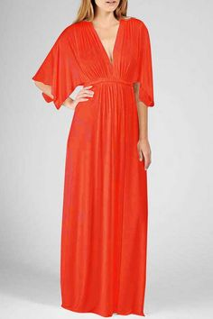 Flattering Cayanne caftan by Rachel Pally... I want for the honeymoon!