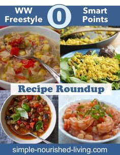 The best WW Zero Freestyle SmartPoint Recipes from your favorite recipe sites including SkinnyTaste, EmilyBites, Simple-Nourished-Living, PinchofNom & more!