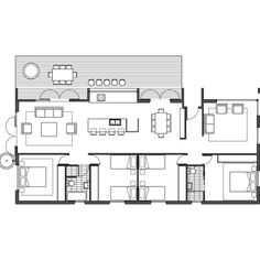 ArchiBlox » Modular Designs - Modular Homes - Bespoke Homes - Prefabricated Homes - Sustainable Homes - Barry 3 New House Plans, Modern House Plans, Small House Plans, House Floor Plans, Container Home Designs, Container House Plans, Prefabricated Houses, Prefab Homes, Compact House