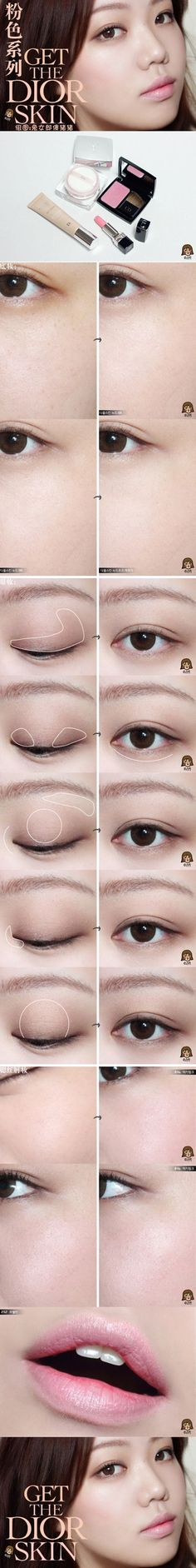Eye Korean Natural Makeup Asian Beauty 67 Ideas For 2019 # colorful … - therezepte sites Asian Makeup Looks, Korean Natural Makeup, Korean Makeup Look, Celebrity Makeup Looks, Asian Eye Makeup, Asian Makeup Tutorials, Beauty Tutorials, Asian Inspired Makeup, Red Lipstick Makeup