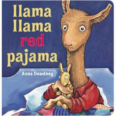 Bedtime is filled with rhymes and llama drama in the Llama Llama Red Pajama board book, the kid-friendly format make this book a great gift for young readers. - By Anna Dewdney http://www.mastermindtoys.com/Llama-Llama-Red-Pajama-Board-Book.aspx