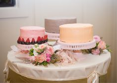 spring #wedding cakes