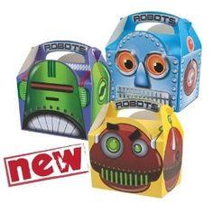 Robot Party Food Box: Amazon.co.uk: Kitchen & Home