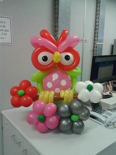 Búho de globos   -   Balloon Owl