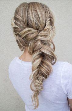 Fishtail Braids Hairstyles 8