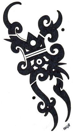Top 18 Coolest Modern Tribal Tattoo Designs for Men - Bergambar Tato Celtic Tribal Tattoos, Types Of Tribal Tattoos, Native Tattoos, Tribal Tattoos For Men, Tribal Tattoo Designs, Tattoo Women, Iban Tattoo, Modern Tattoos, Polynesian Designs