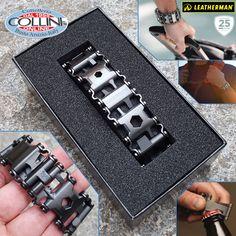 Leatherman - Bracciale Tread - Black PVD - utensile multiuso