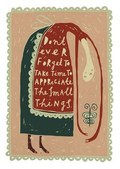 The Small Things  FreyaArt on Etsy  by Freya Ete