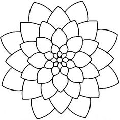 Stencil - - Oriental Blossom - Quilting stencils are created from thin, flexible plastic and come in a variety of sizes depending on the design. The design cut into the stencil can be tra Stencil Patterns, Zentangle Patterns, Mosaic Patterns, Embroidery Patterns, Mandala Drawing, Mandala Painting, Mandala Dots, Mandala Pattern, Dot Art Painting