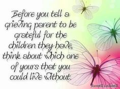 yes, I was blessed with a son, but the loss of my twins does not disappear because of that.....