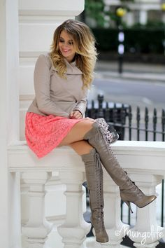 Love the boots and jacket