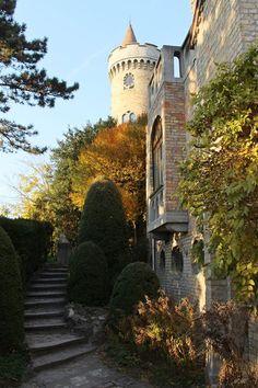 Bory-vár  -  Hungary fotó: Márta  Beledi Hungary, Mansions, Architecture, House Styles, Garden, Travel, Home, Arquitetura, Garten
