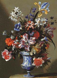 Mario dei Fiori  Floral Still Life  17th century  stilllifequickheart: