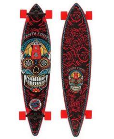 Sugar Skull long board.