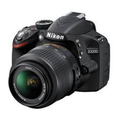 Nikon D3200 + 18-55mm objektiv