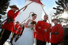 RCMP Wedding