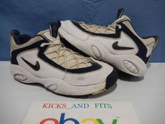 official photos 5ddce fc300 Vtg OG 1996 Nike Air Lambaste 2 Basketball Shoes Flight sz 10 130261-141  Rare