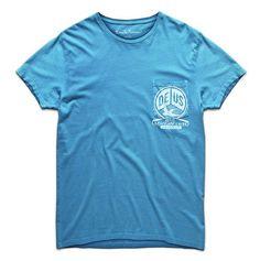 Deus McTavish T-Shirt - Storm www.westgoods.co